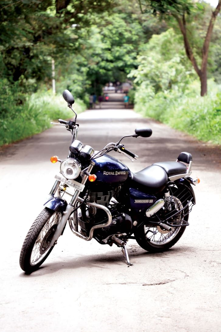 The Royal Enfield Bullet was originally popular among the military and police in India, but now is more popular among civilians. To date, more than half of Bullet riders are under thirty years old.