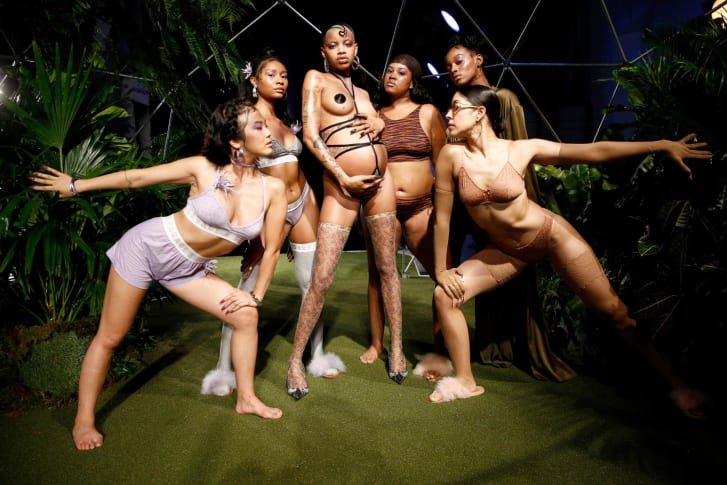 Rihanna's Savage X Fenty lingerie line has been praised for its inclusivity.