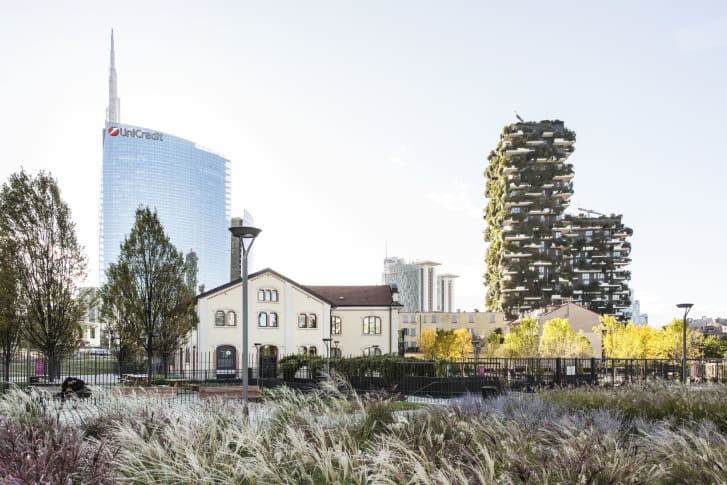 Vertical Forest is located in Boeri's home city of Milan.
