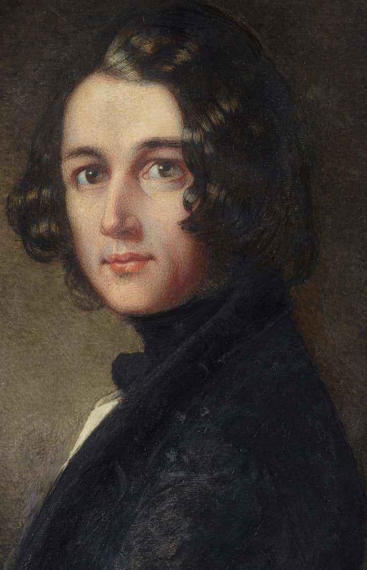 The lost portrait of Charles Dickens at the age of 31, painted by Margaret Gillies, was lost for 174 years.
