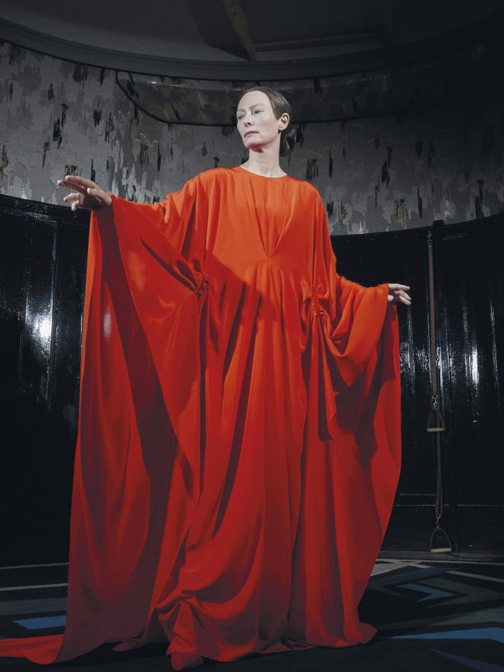 Tilda Swinton as Madam Blanc.