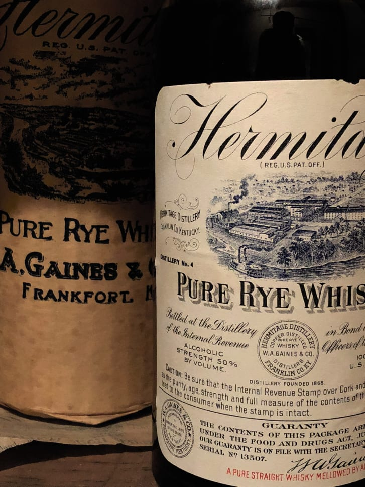 The auction will also include rye whiskeys bottled in the 1930s, which were particularly rare due to grain shortages.