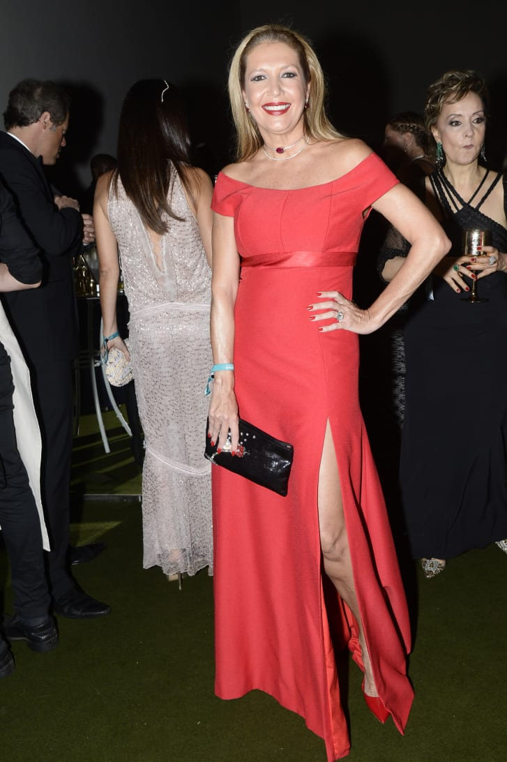Former Vogue Brazil fashion director Donata Meirelles in 2016.