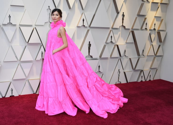 Actress Gemma Chan arrives for the 91st Annual Academy Awards at the Dolby Theatre in Hollywood, California on February 24, 2019.