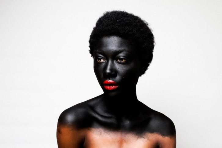 Nigerian photographer Lakin Ogunbanwo fuses fashion photography and portraiture in his work.