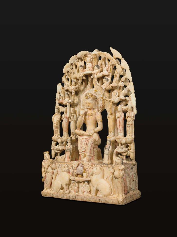 Pensive Bodhisattva -- China Northern Qi dynasty (550-577 CE).