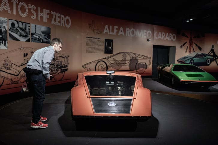 Lancia Statos HF Zero и Alfa Romeo Carabo auto-gid.com