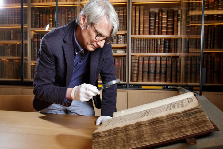 Historian Geoffrey Marsh analyzed archives that dated back to the 1550s.