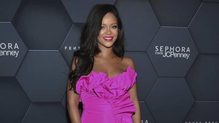 In the past two years, Rihanna has also launched beauty brand Fenty Beauty and lingerie brand Savage X Fenty.