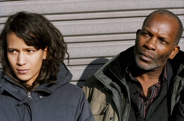 """Mati Diop and Alex Descas in """"35 Shots of Rum"""" (2008). The film by Claire Denis was the actor-turned-director's breakthough."""