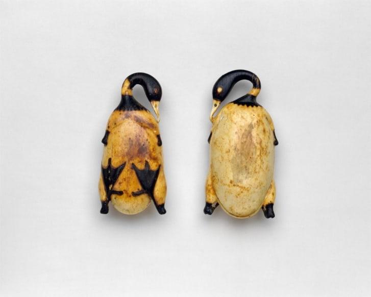 Món ăn mỹ phẩm trong hình dạng của một con vịt, ca.  1353-1327 TCN