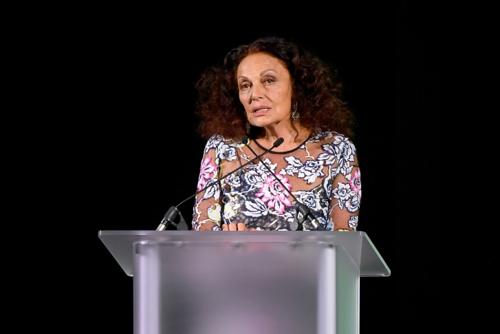 Diane Von Furstenberg, who is standing aside as chair of the CFDA.
