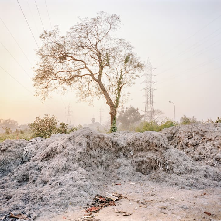 Pollution from leather tannaries outside Kolkata.