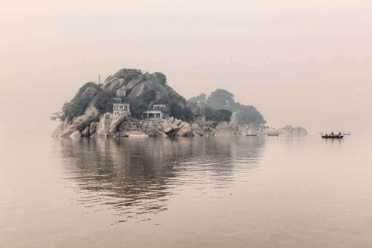 """""""Ganga Ma"""" brings together almost 70 pictures from Di Sturco's journeys along the 1,500-mile-long river, which stretches across India and Bangladesh."""
