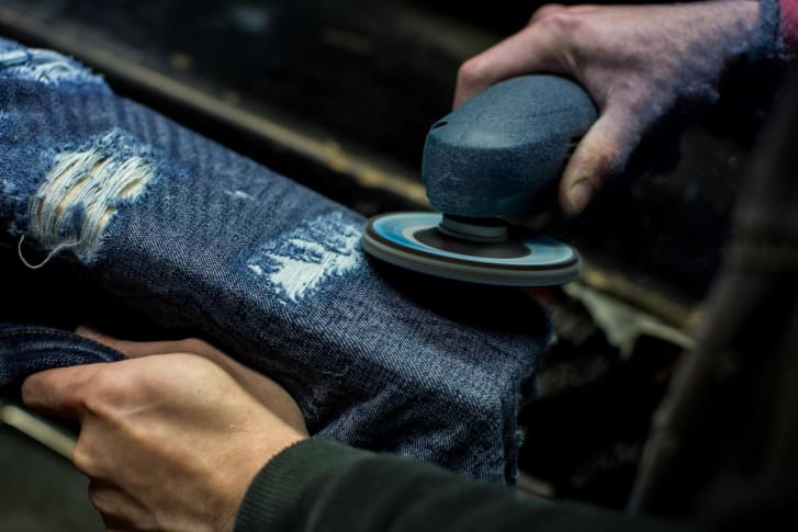 Many of the world's finest jeans are being crafted in Japan.