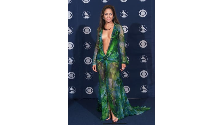 The O.G. dress, at the 42nd Grammy Awards.