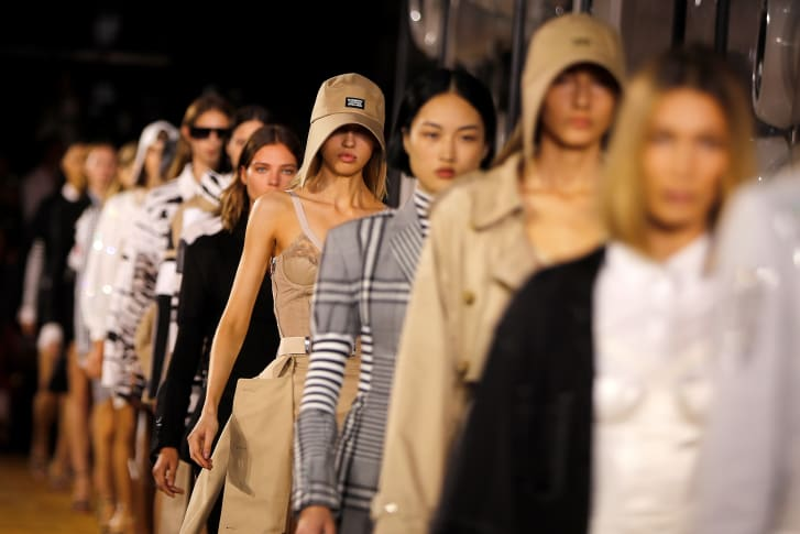 Burberry staged a carbon neutral show at London Fashion Week, following Gabriela Hearst's first in New York.