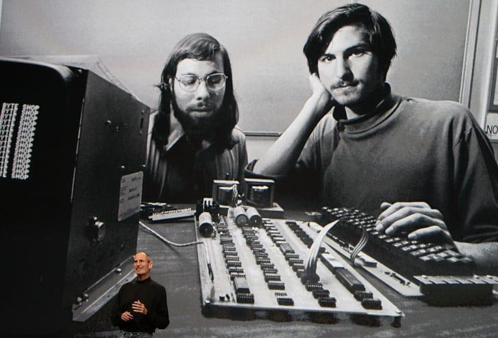 Steve Jobs has long been associated with turtlenecks.