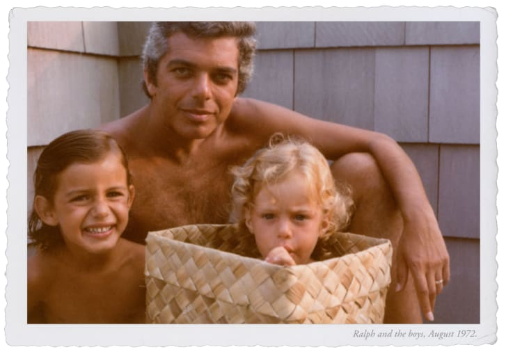 The documentary shows Ralph Lauren as not just a visionary business man, but also a dedicated and present father.