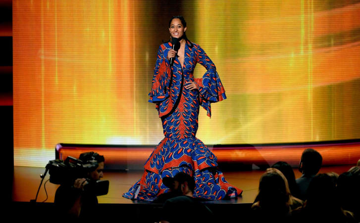 Tracee Ellis Ross at the 2018 American Music Awards.