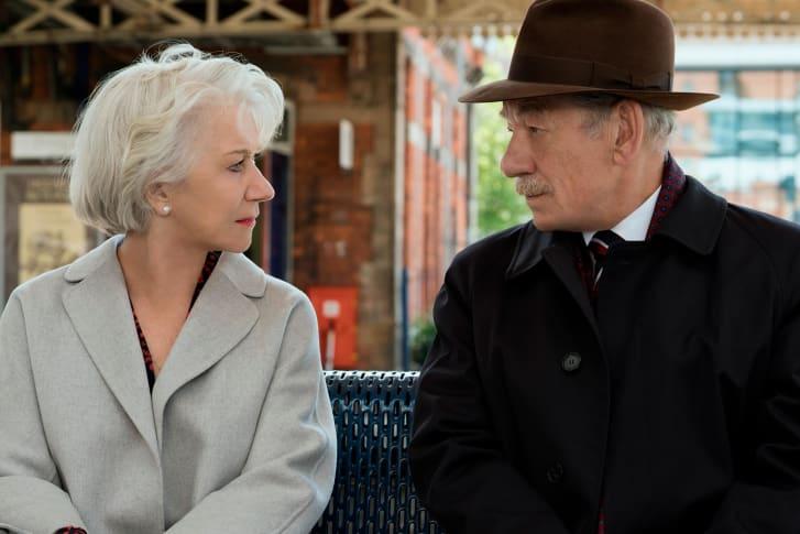 海伦·米伦(Helen Mirren)和伊恩·麦凯伦(Ian McKellen)