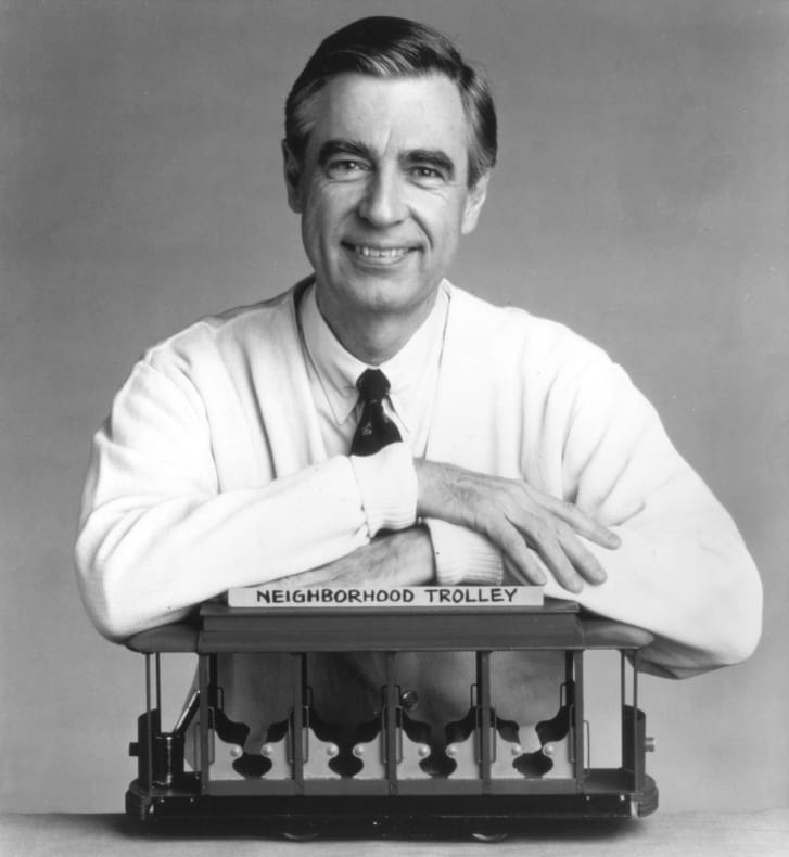 Now displayed at the Smithsonian National Museum of American History, the sweater was one of many in Mr. Rogers' wardrobe, most hand-knitted by his mother, Nancy McFeely Rogers.