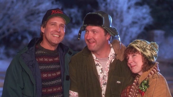 """Chevy Chase in """"National Lampoon's Christmas Vacation"""""""