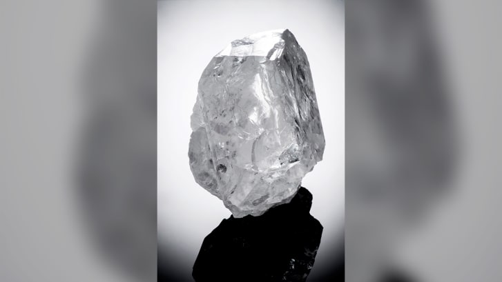 The Lesedi La Rona diamond, discovered in the same Botswana mine, sold for $53 million in 2017.
