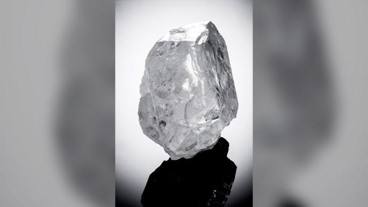 The Lesedi La Rona diamond, discovered in the same Botswana mine, sold for $53 million in 2017.
