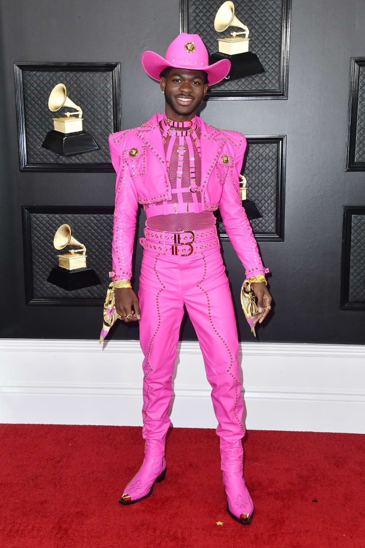 Lil Nas X in Versace.