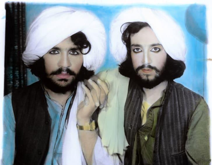 托马斯·德沃扎克(Thomas Dworzak),《塔利班肖像》,阿富汗坎大哈,2002年。