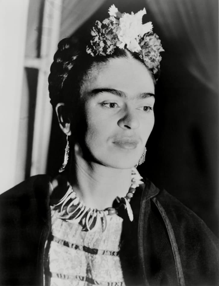 Mexican artist Frida Kahlo boasted a unibrow.