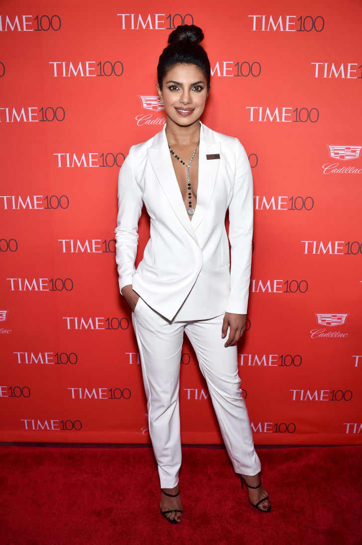 Priyanka Chopra attends 2016 Time 100 Gala.