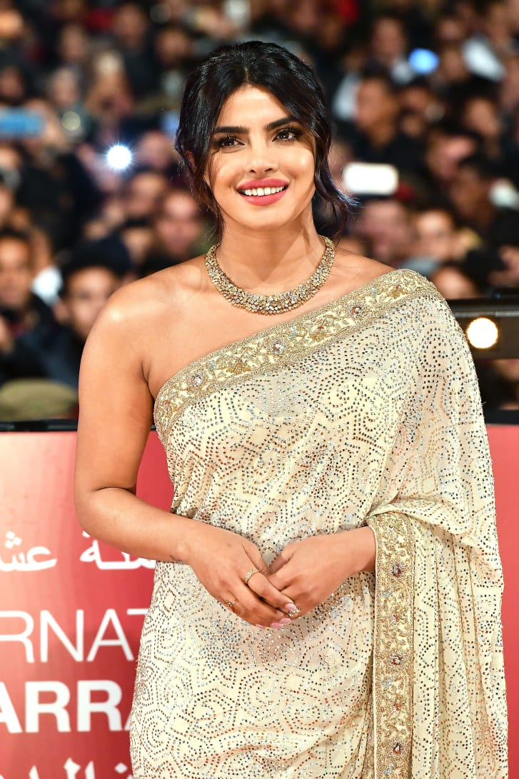 Priyanka Chopra attends the 18th Marrakech International Film Festival on December 05, 2019 in Marrakech, Morocco.