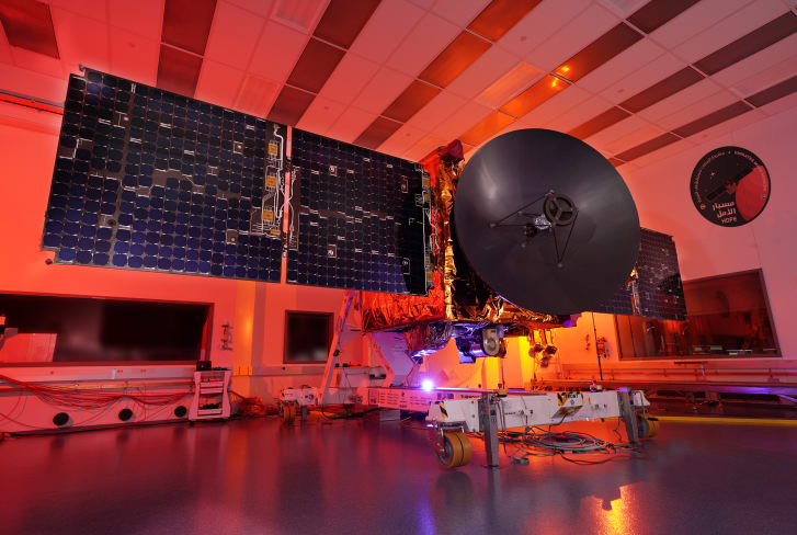 The UAE's Mars Hope Probe is set to reach Mars in February 2021