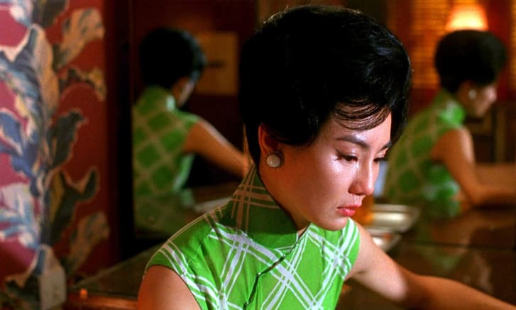 Wong Kar-Wai and art director William Chang used colors to symbolize feelings of romance, jealousy and more.