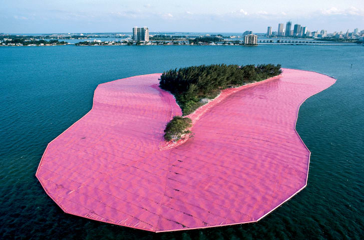 """Surrounded Islands,"" Biscayne Bay, Greater Miami, Florida, 1980-83"