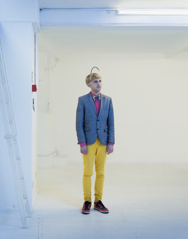 Neil Harbisson was born with achromatism, or total colorblindness. In 2004, he had an antenna implanted into his skull that allows him to perceive colors as audible vibrations.