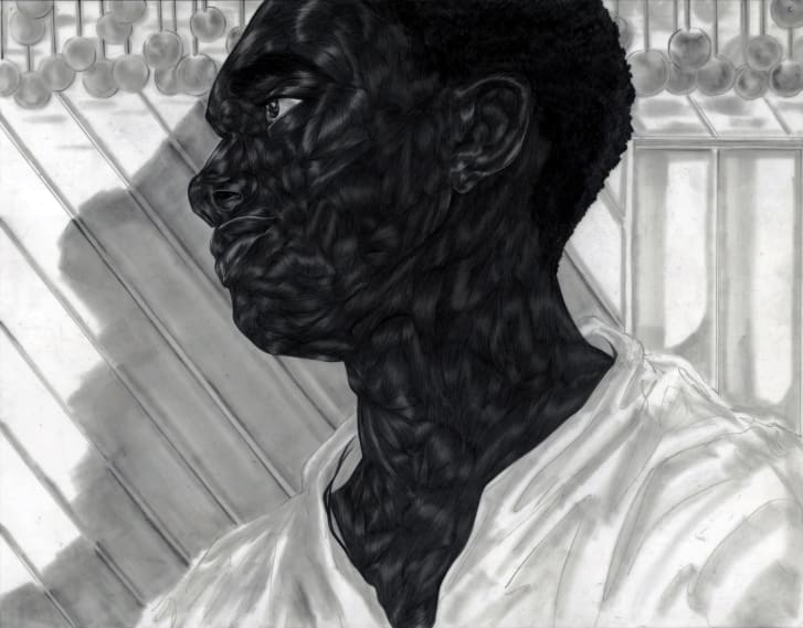 Ojih Odutola wants her art to provide a space through which viewers can reflect and arrive at their own interpretations.