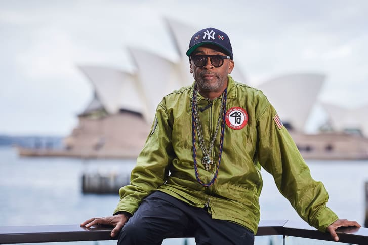 Director, producer and screenwriter Spike Lee