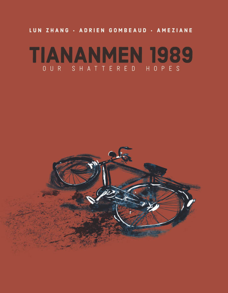 """""""Tiananmen 1989: Our Shattered Hopes"""" cover."""