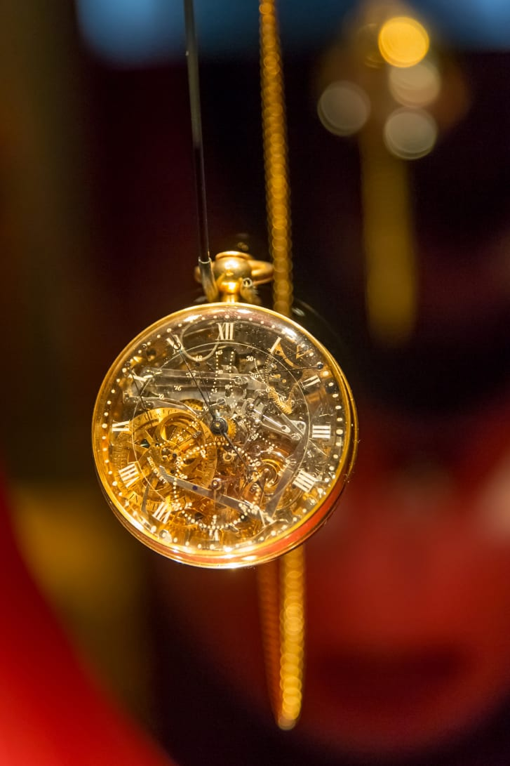 Тhe Breguet No. 160 grand complication, more commonly known as the Marie-Antoinette or the Queen