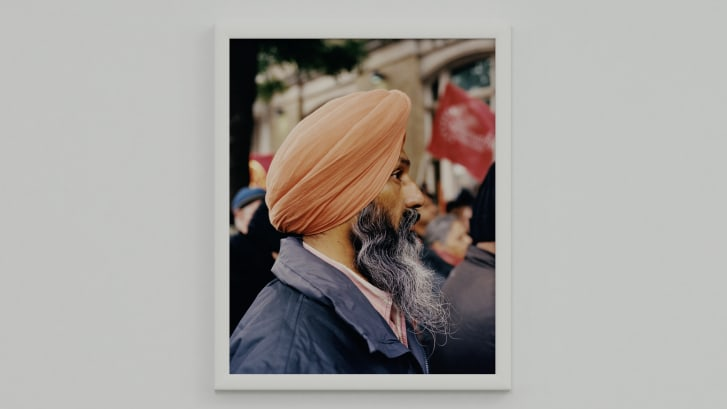 Still from Ahluwalia's digital exhibition and book 'Jalebi'