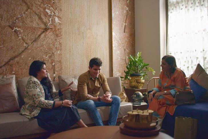 """Pradhyuman Maloo in episode four of """"Indian Matchmaking."""""""
