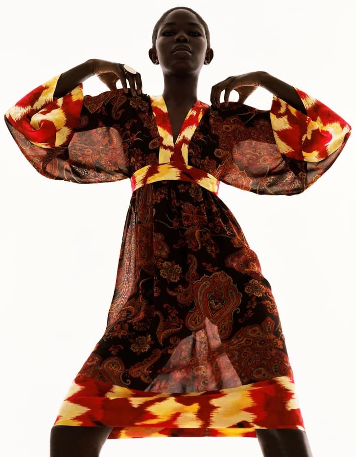 """Duro Dress"" Spring-Summer 2005 by Peter Farago & Ingela Klemetz Farago."