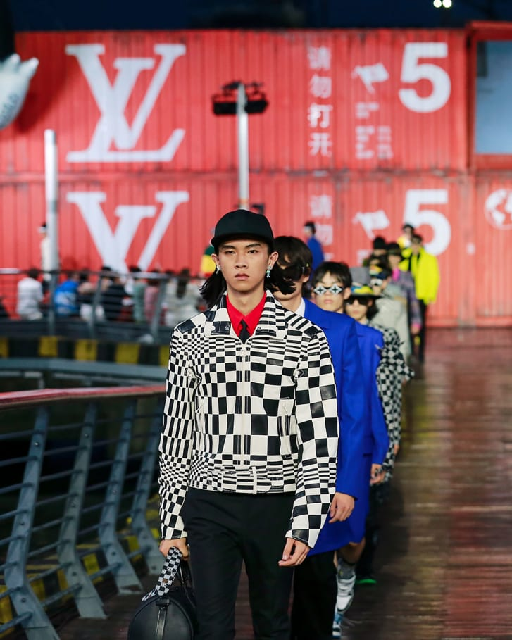 Louis Vuitton Spring-Summer 2021 collection presented in Shanghai