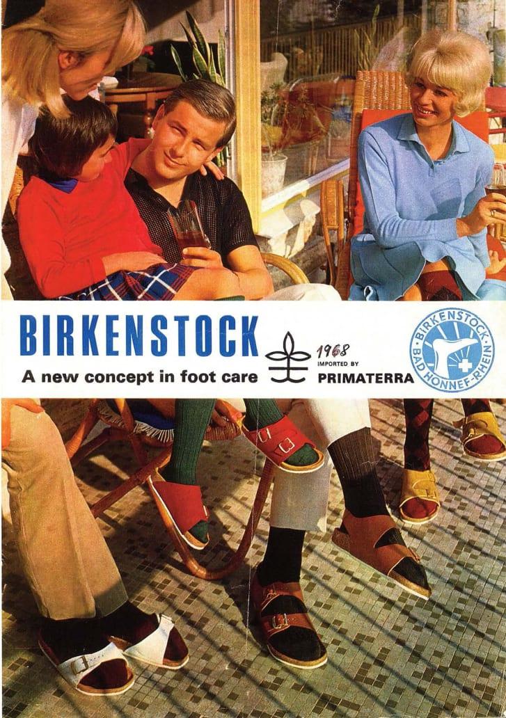 Birkenstock ad from 1968