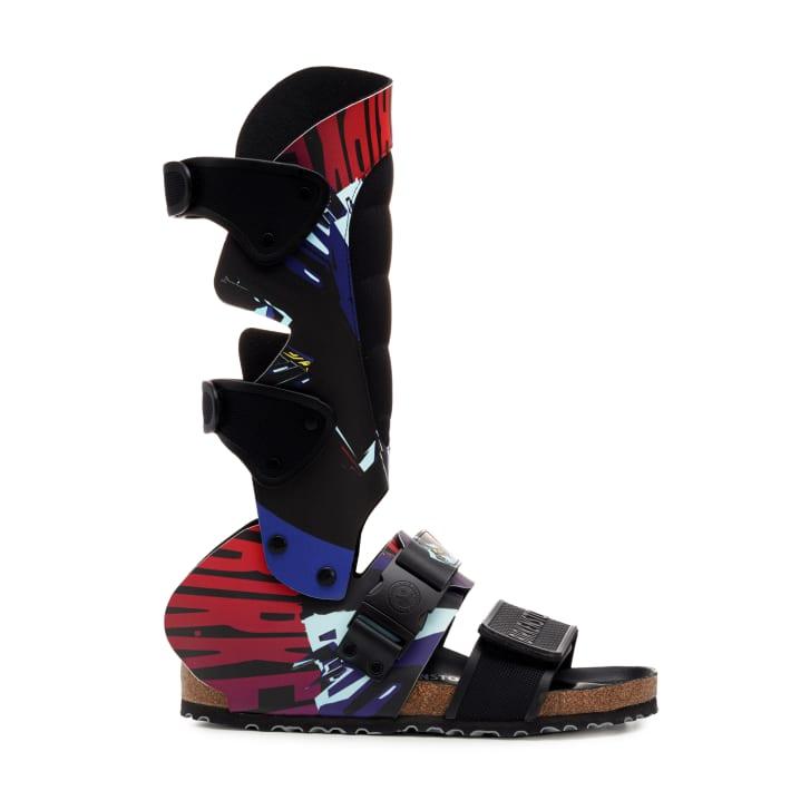 "Central Saint Martins student Alex Wolfe's ""Moto"" Birkenstock sandal design"