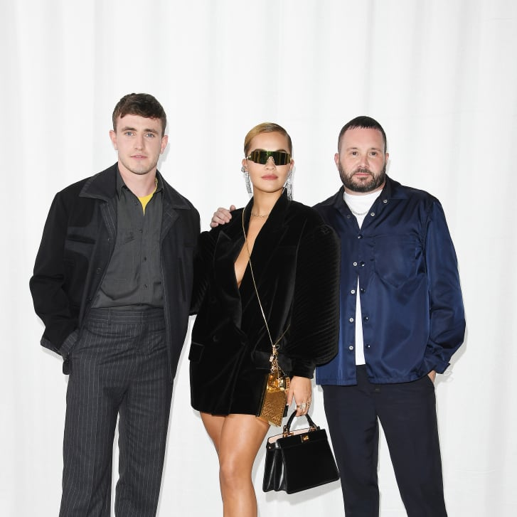 Paul Mescal, Rita Ora, Kim Jones attending Fendi Spring-Summer 2021