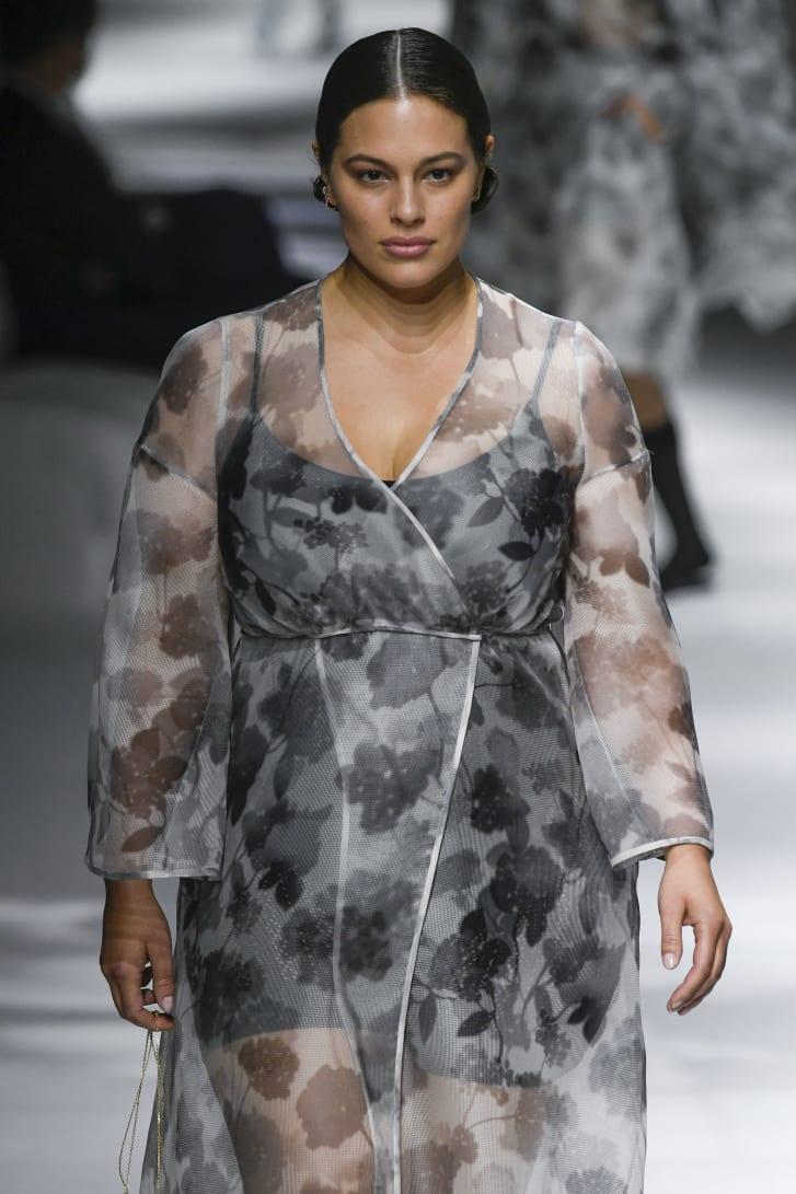 Ashley Graham walking for Fendi Spring-Summer 2021